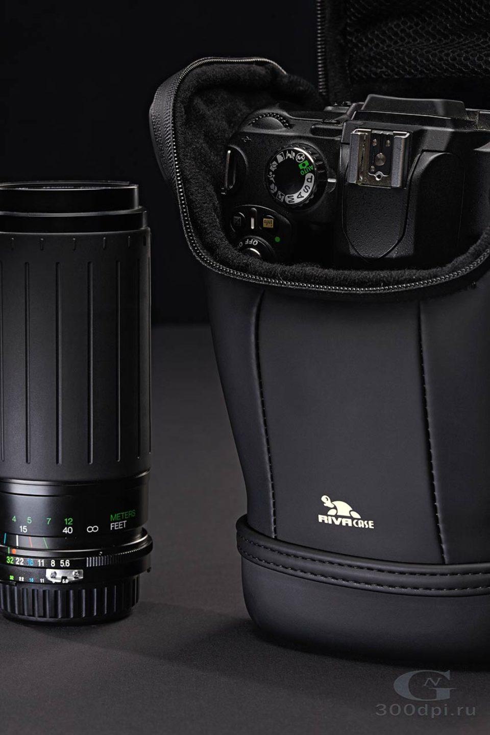 Пример съёмки чёрного на чёрном.