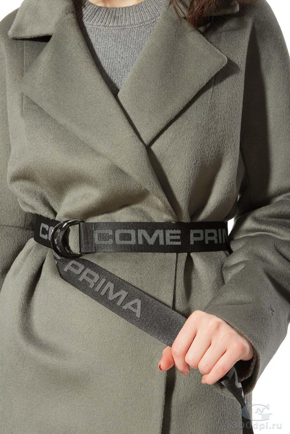 "Фотосъёмка детали пальто ""Come Prima"""