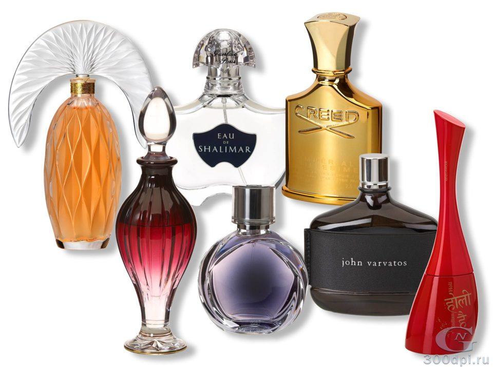 Съемка парфюма