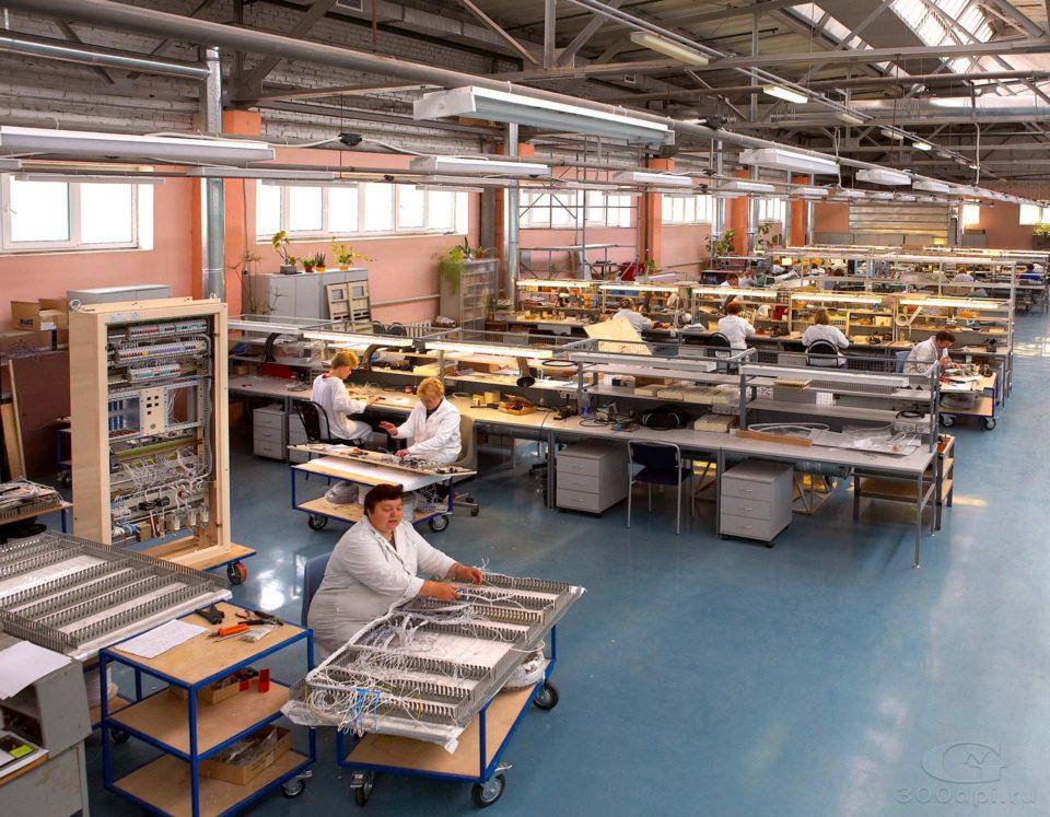 Фотосъёмка производственных помещений