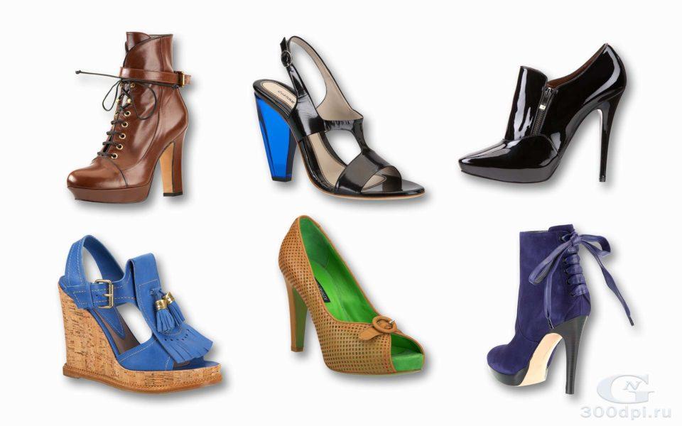 Такая разная женская обувь